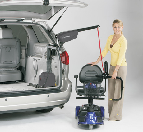 Wheelchair and Scooter Lifts | Columbus Mobility Specialists